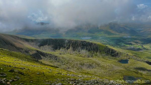 Yr Wyddfa - Snowdon, Llanberis Path (part 2) 7/11