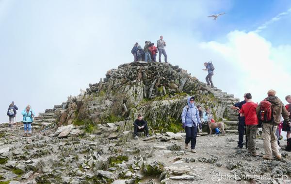 Yr Wyddfa - Snowdon, Llanberis Path (part 2) 8/11