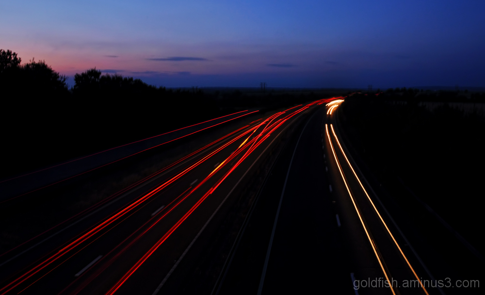 A34 Light Trails 2/2