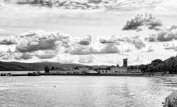 Inveraray from the Aray Bridge 1/2
