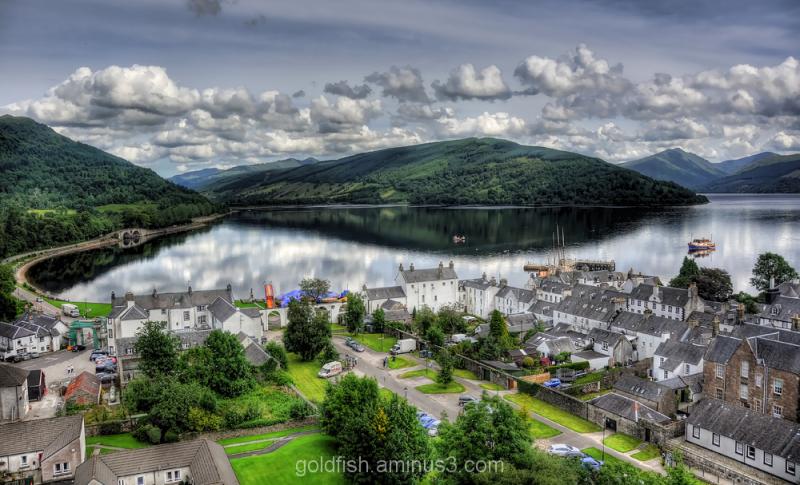 View over Loch Fyne 1/2