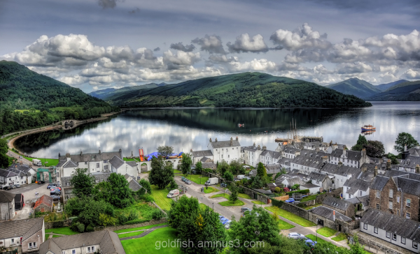 View over Loch Fyne 1/2
