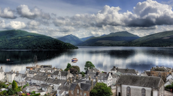 View over Loch Fyne 2/2