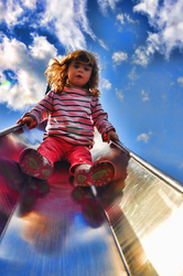 Blue Skies and Slides
