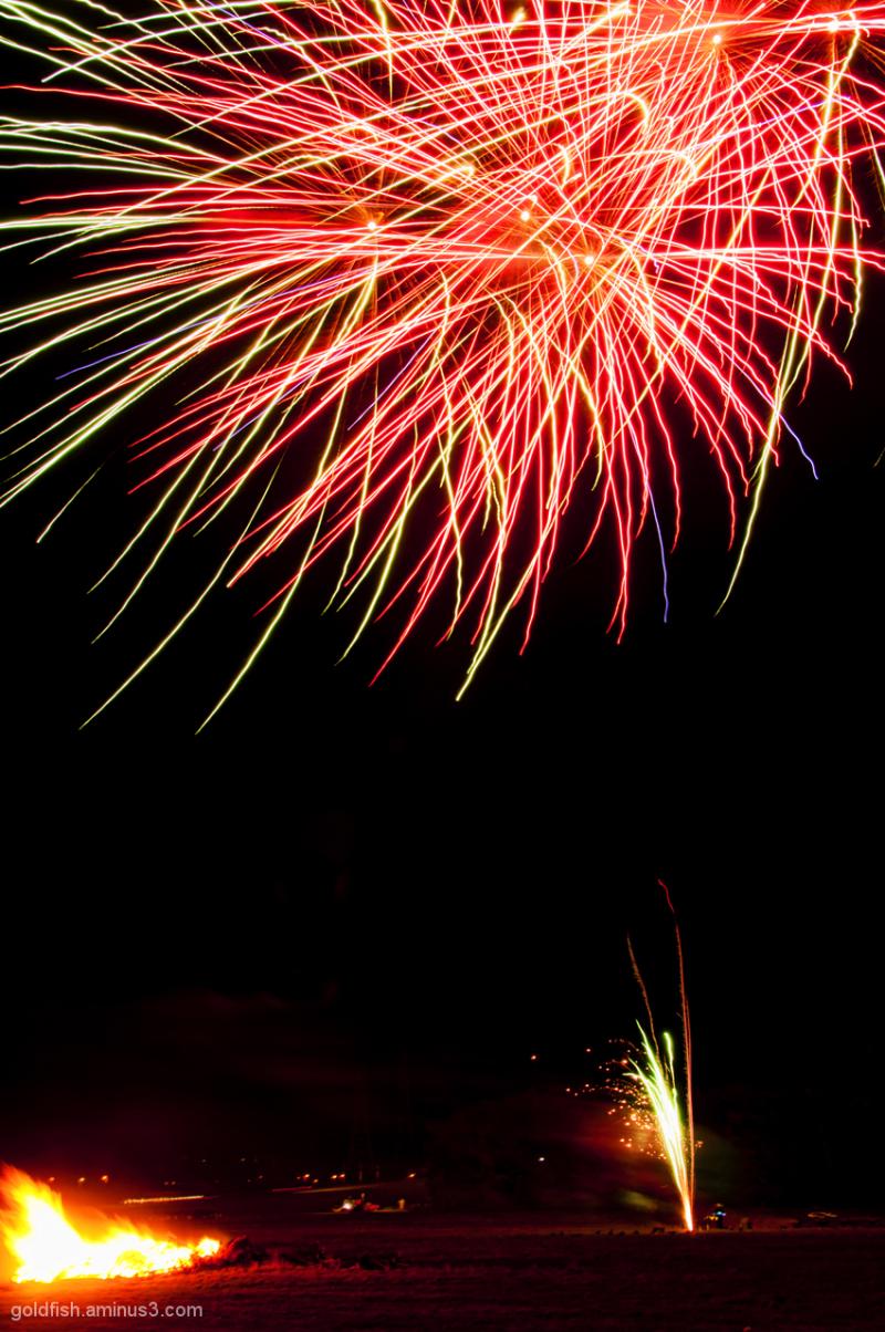Culham Park Fireworks Display 1/8