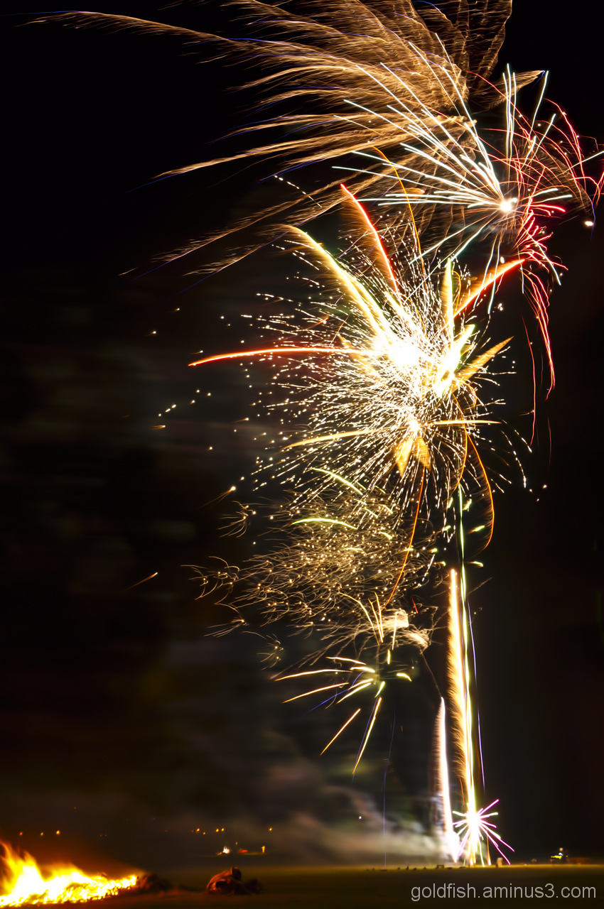 Culham Park Fireworks Display 3/8