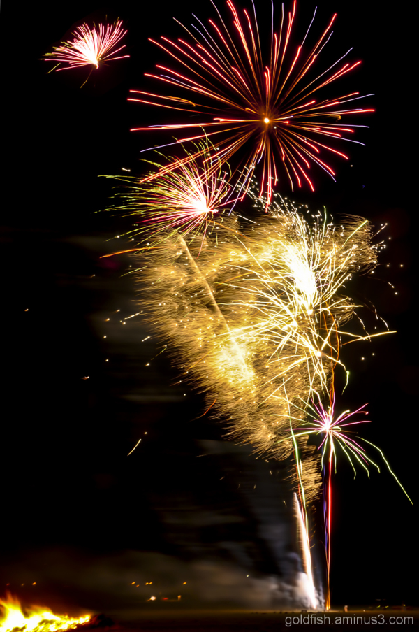 Culham Park Fireworks Display 4/8