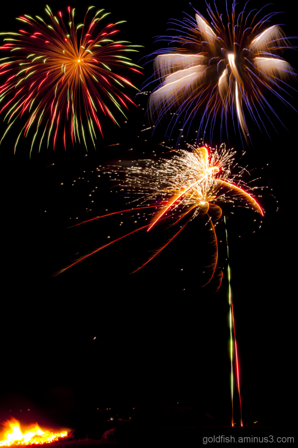 Culham Park Fireworks Display 6/8