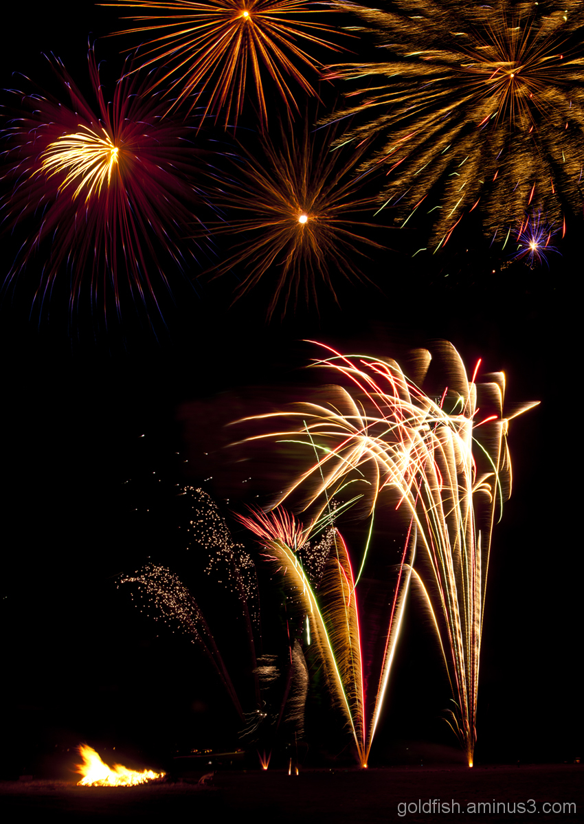 Culham Park Fireworks Display 7/8