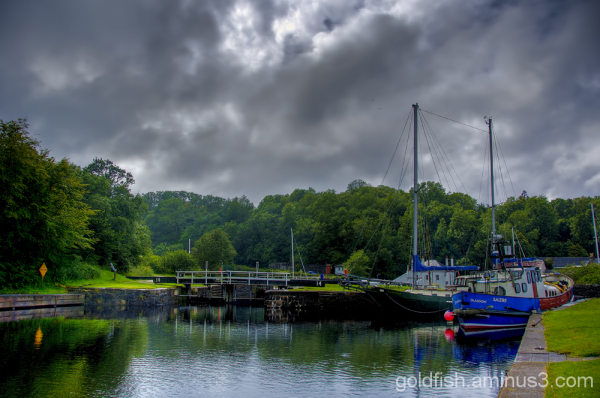 Views from Crinan 8/9 - Lock 14