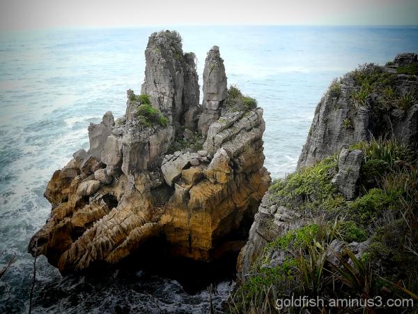 Pancake Rocks - Punakaiki 11/11