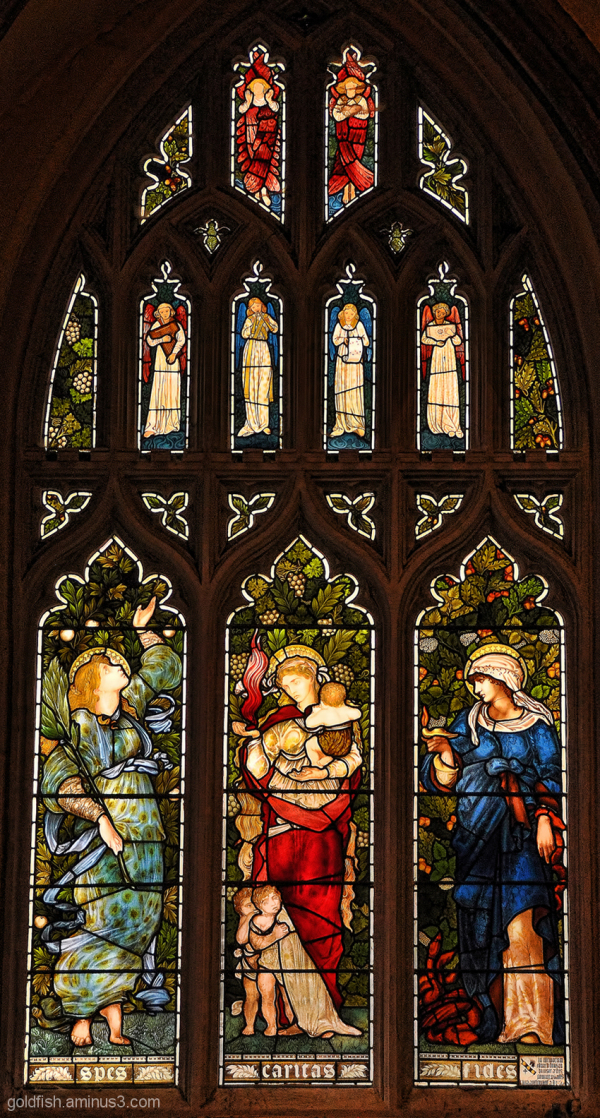 Stained Glass of Christ Church Oxford - 1/6