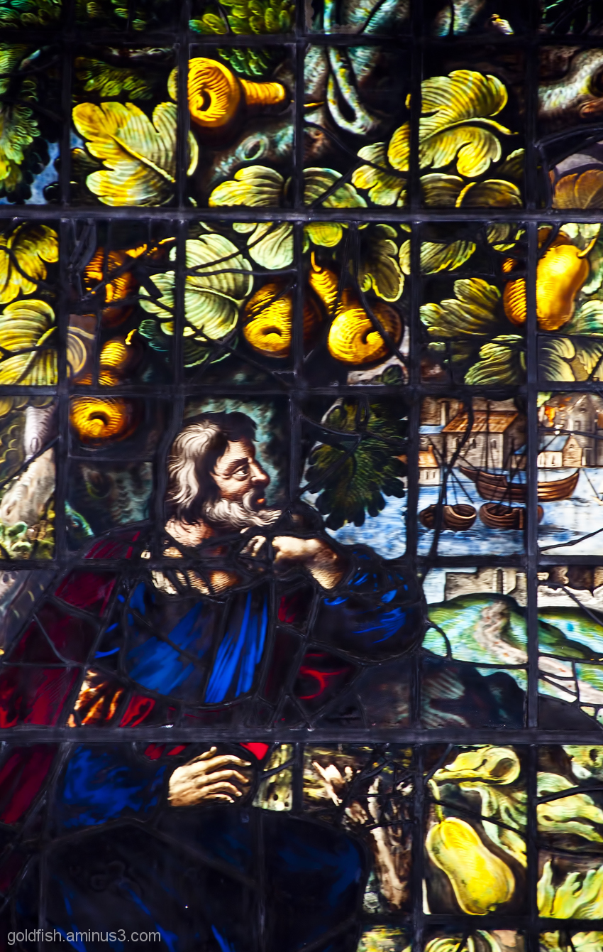Stained Glass of Christ Church Oxford - 2/6