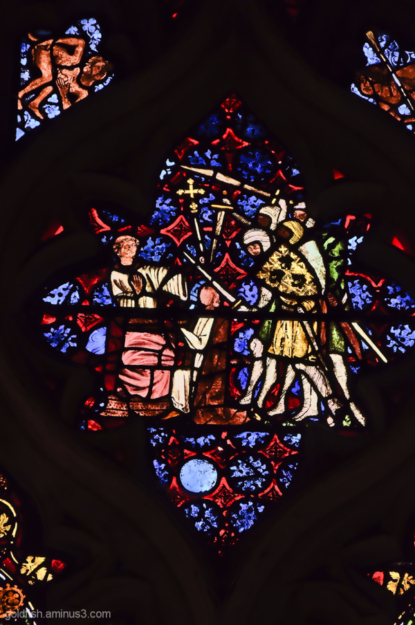 Stained Glass of Christ Church Oxford - 3/6