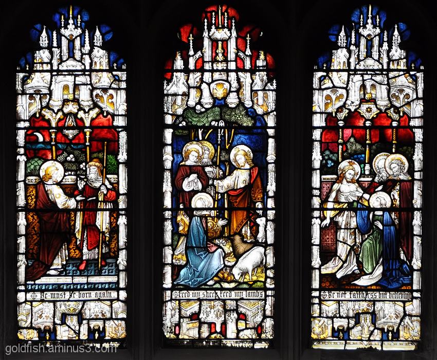 Stained Glass of Christ Church Oxford - 4/6
