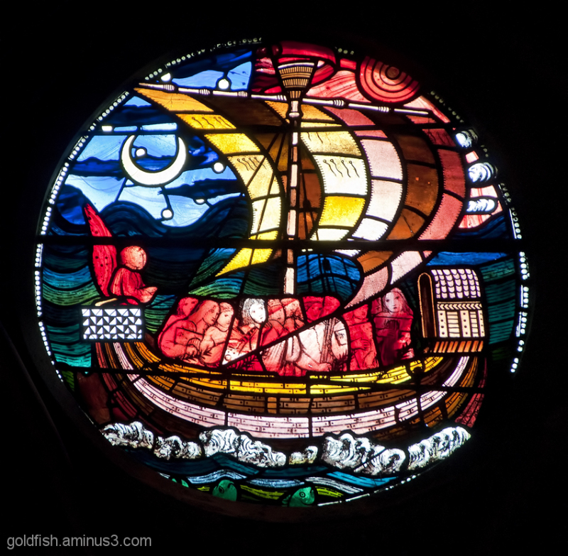 Stained Glass of Christ Church Oxford - 5/6