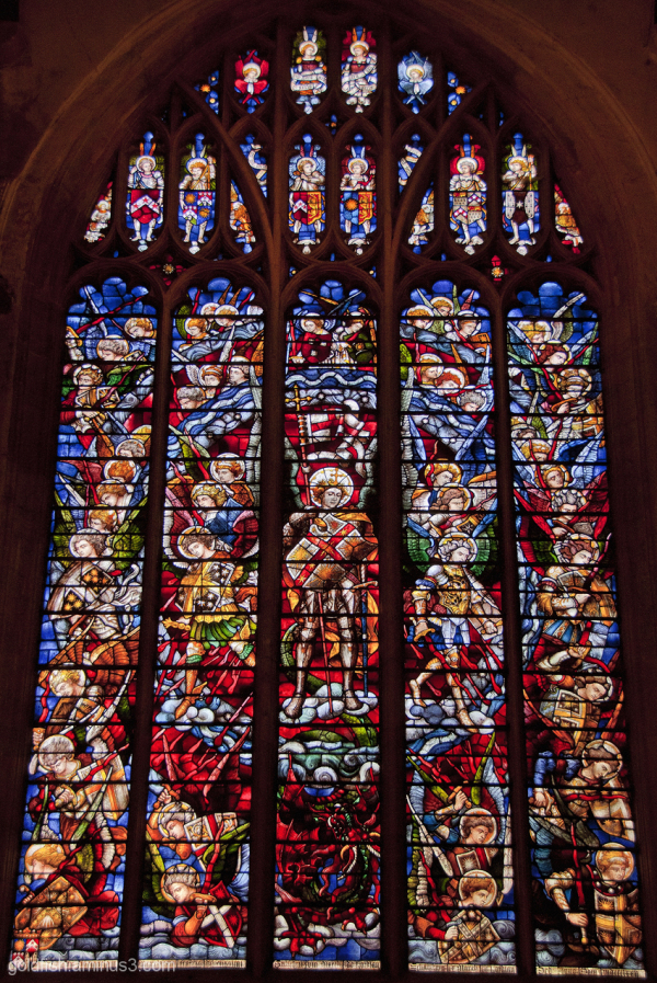 Stained Glass of Christ Church Oxford - 6/6