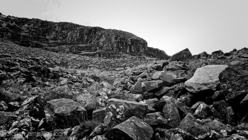 Yr Wyddfa - Snowdon, Miners Track 4/17