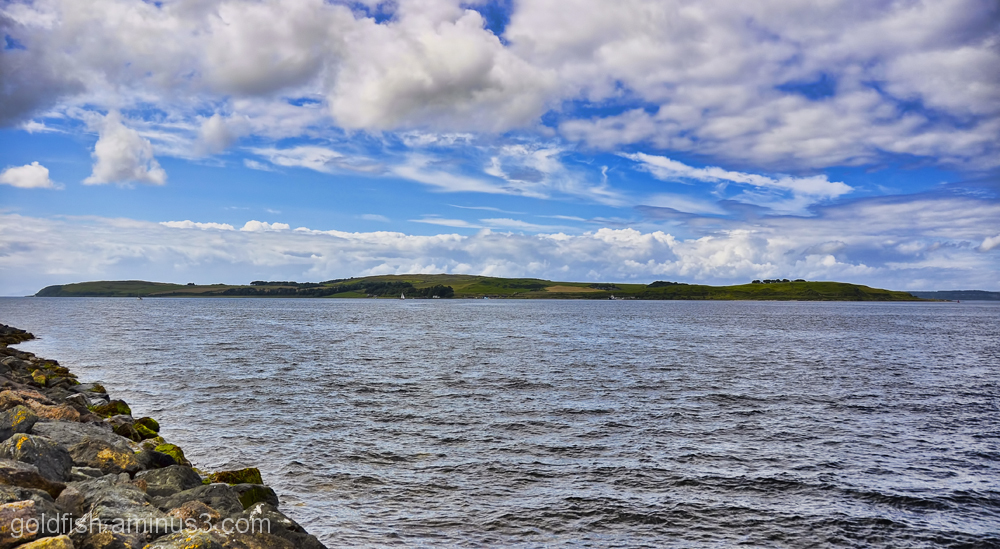 Great Cumbrae from Largs
