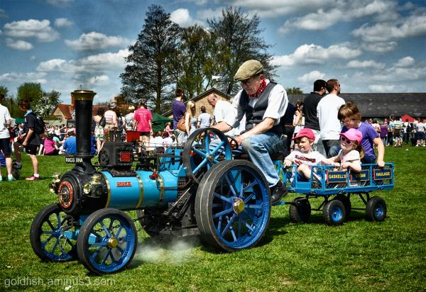 Steam Engine Rides