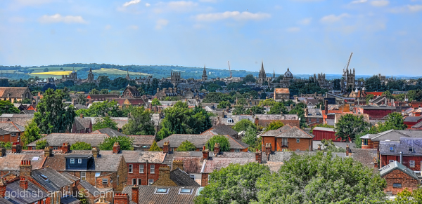 Oxford Spires and Rooftops