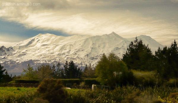 Mount Ruapehu 2/3