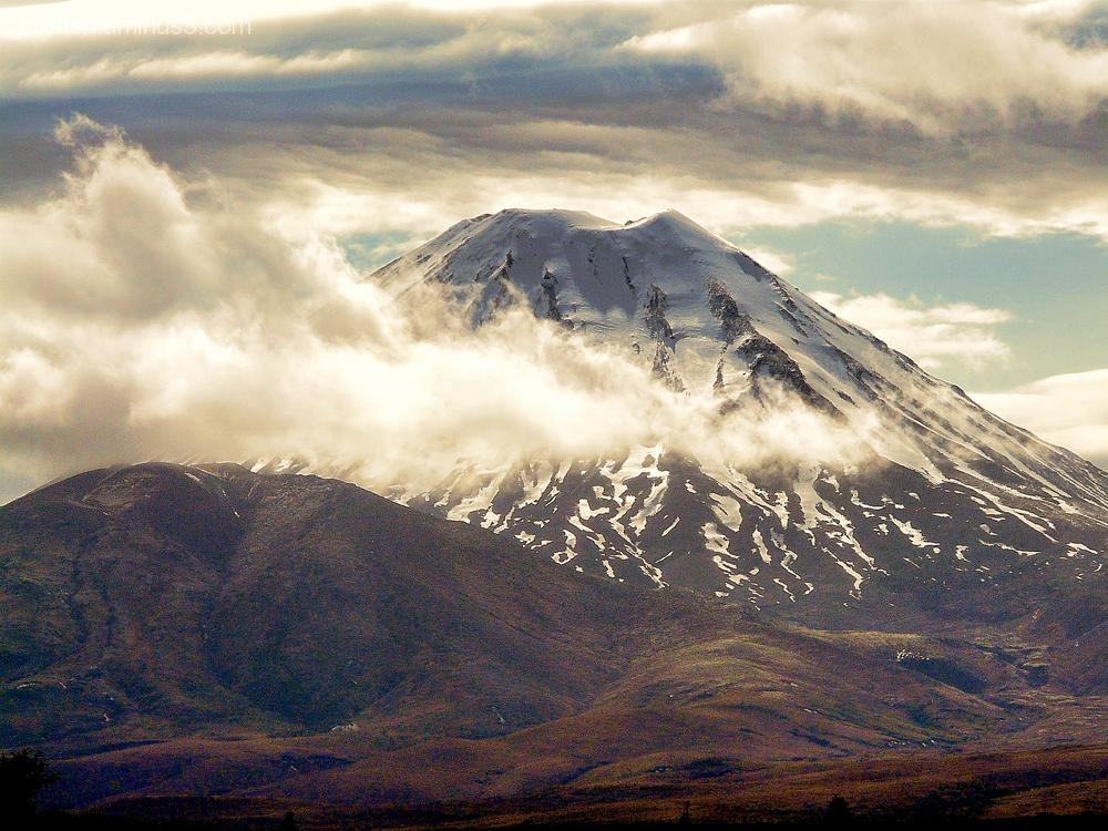 Mount Ngauruhoe 3/4