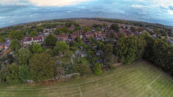 Drone's Eye View Of Drayton 1/6