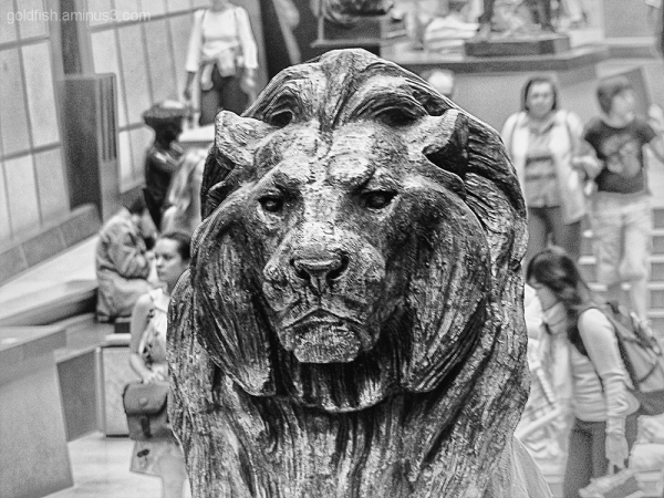 Musee d'Orsay 1/4 - Lion Assis/Seated Lion
