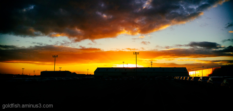 Cowley Sunset