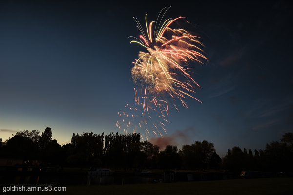 Music in the Park - Firework finale 3/6
