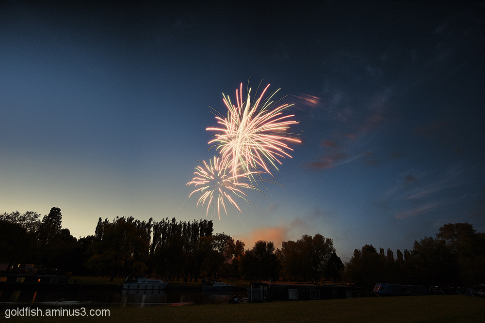 Music in the Park - Firework finale 4/6