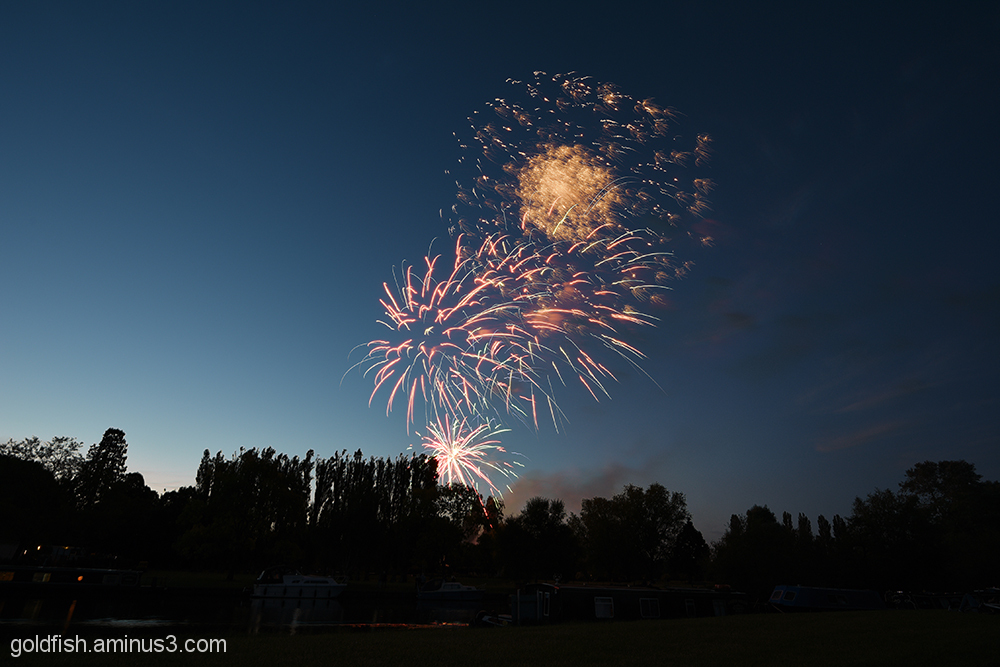 Music in the Park - Firework finale 5/6