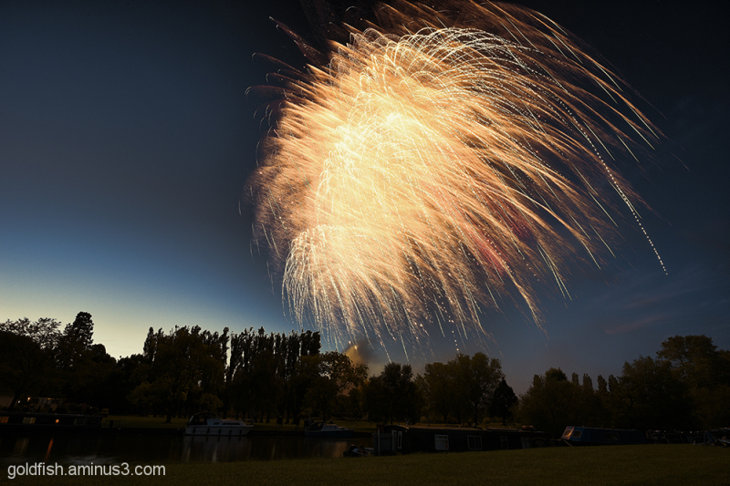 Music in the Park - Firework finale 6/6