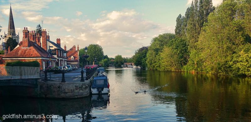Abingdon on Thames 1/2