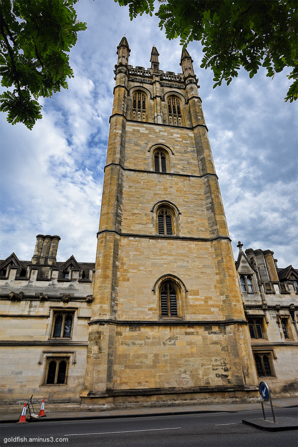 Magdalen Tower, Oxford