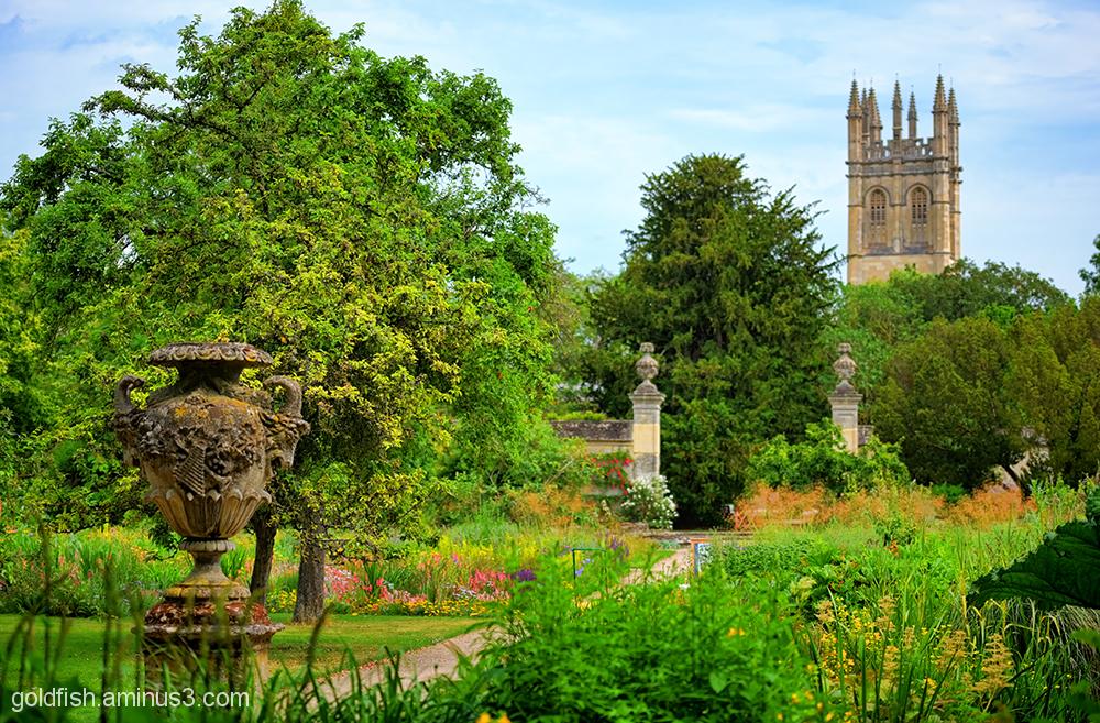Botanical Gardens Oxford