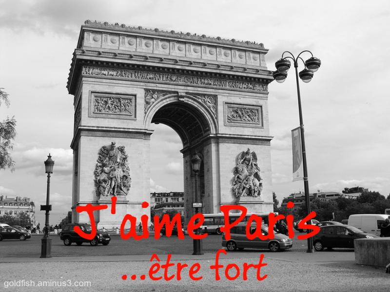 Paris - Be Strong