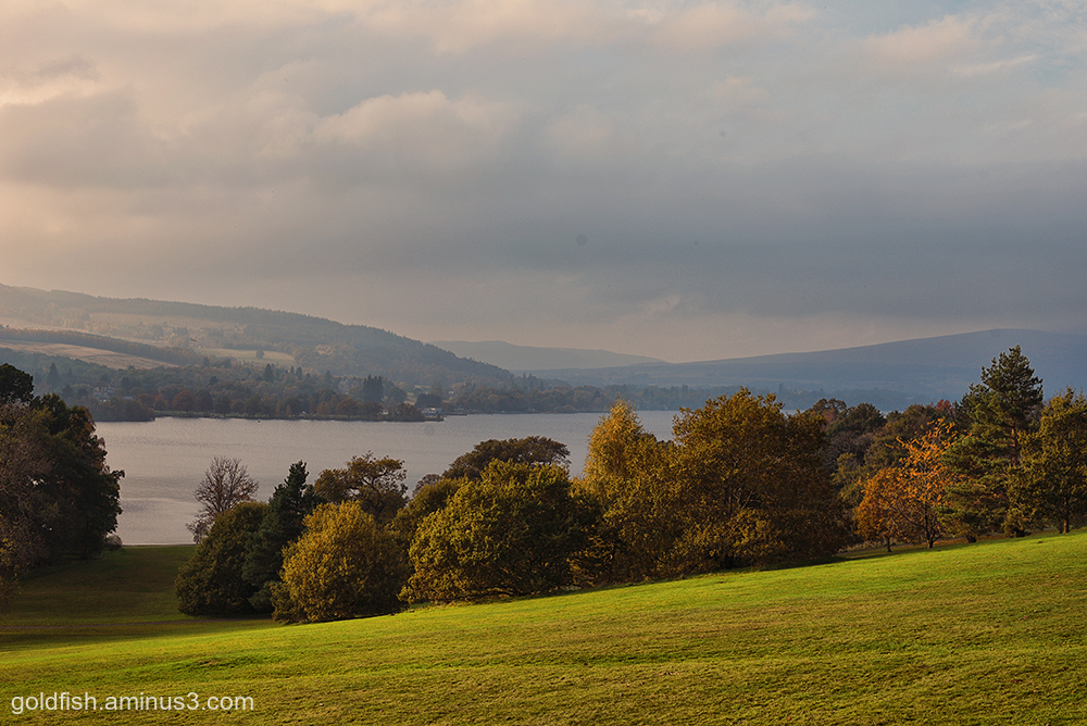 Balloch Castle View iv (Loch Lomond)