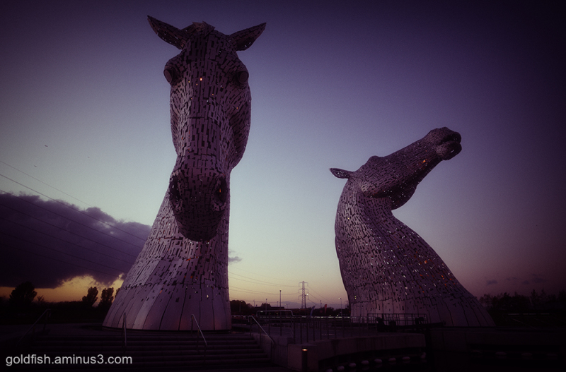 The Kelpies iii