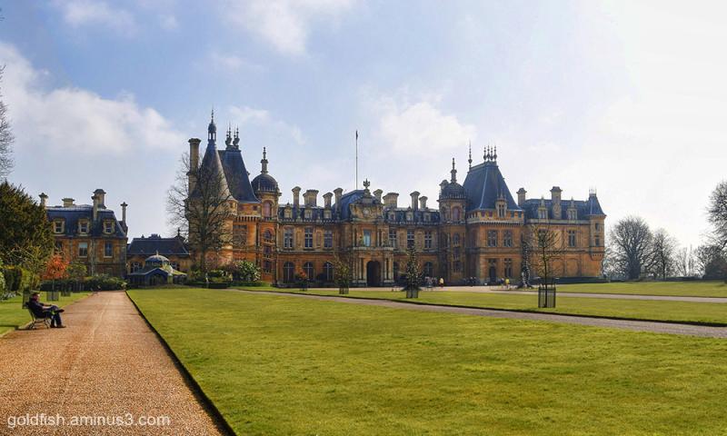 Waddeson Manor - North Terrace