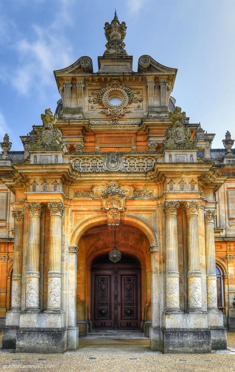 Waddeson Manor - North Front Door