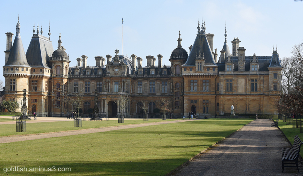 Waddeson Manor - North Front