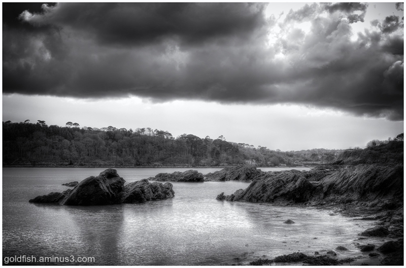 View From Durgan Beach ii