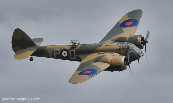 Bristol Blenheim WW2 Bomber