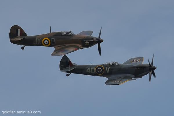 Hawker Hurricane and Supermarine Spitfire ii