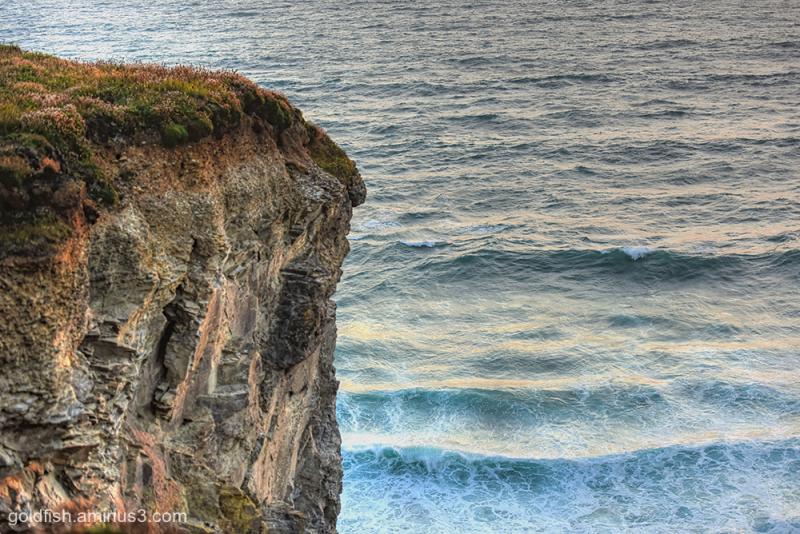 Bedruthan Cliff