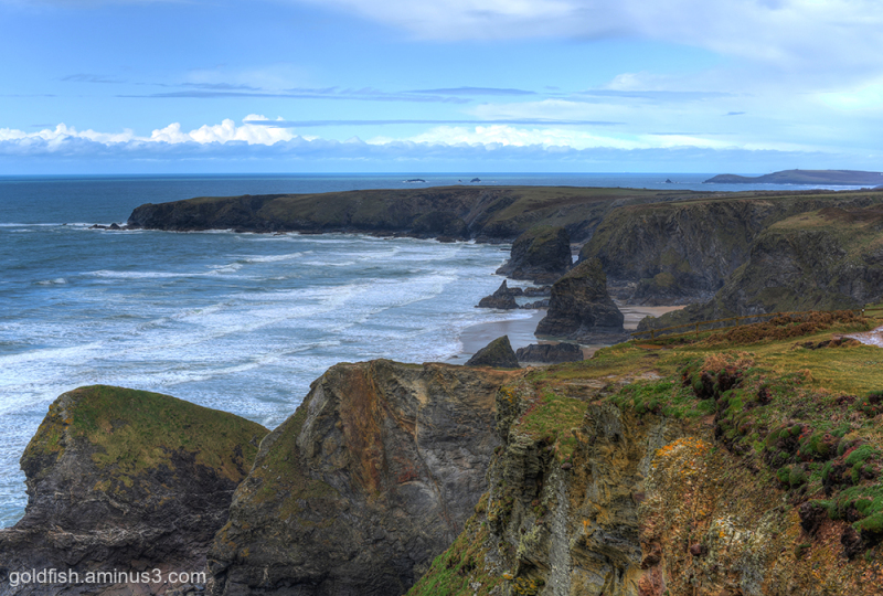 Carnewas and Bedruthan Steps