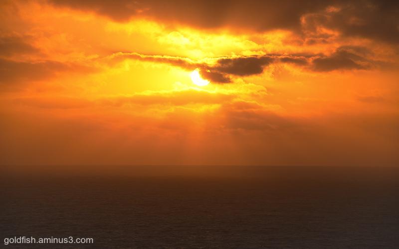 Bedruthan Sunset i