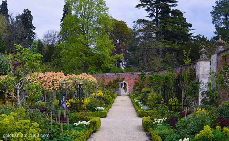 Buscote Park Walled Garden